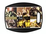 Tocator profesional polietilena 30x38cm PURE LIFE cu décor MN0198553 Raki