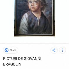 Vand tablou Pictor Giovanni Bragolin, Istorice, Ulei, Impresionism