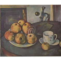 Paul Cezanne. 12 Farbige Gemaldewiedergaben. 4 studienblatter