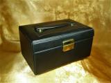 Geanta, cutie bijuterii voiaj, Art Deco, colectie, cadou, vintage