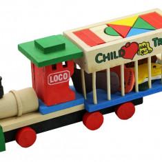 Trenulet LOCO animale lemn