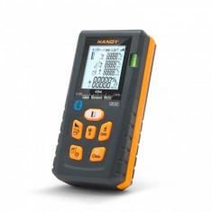 Telemetru digital Smart cu conexiune Bluetooth 40 metri