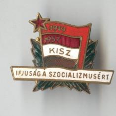 Insigna POLITICA - PARTIDUL COMUNIST MAGHIAR - 1919-1957