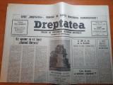 """ziarul dreptatea 30  martie 1990-art.""""la 100 de zile de la revolutie"""""""