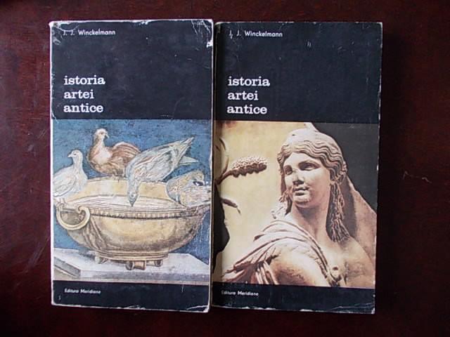 ISTORIA ARTEI ANTICE-J J WINCKELMANN-VOL I SI II-R2D