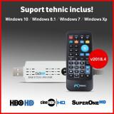 Tuner TV Digital USB - v2018.4 - HBO HD - DVB-C DVBC T2 - suport tehnic, Extern (necesita PC)