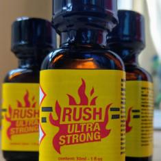 RUSH ULTRA STRONG - sticla mare - poppers - aroma camera - sigilat - original