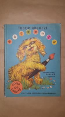 Zdreanta /carte de colorat /an1977/48pagini- Arghezi foto