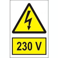 Indicator 230 V - Semn Protectia Muncii
