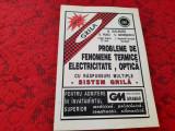 PROBLEME DE FENOMENE TERMICE,ELECTRICITATE,OPTICA CU RASPUNSURI MULTIPLE O RUSU