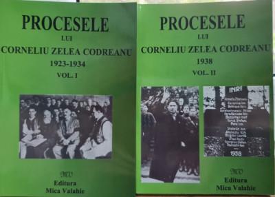 PROCESELE LUI CORNELIU ZELEA CODREANU 1923 1938 2VOL MISCAREA LEGIONARA LEGIONAR foto