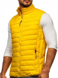 Vestă matlasată galbenă Bolf HDL88001