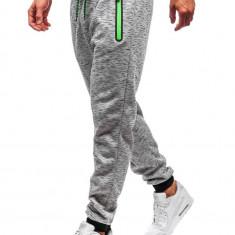 Pantaloni de trening bărbați gri Bolf 55037
