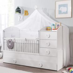 Baldachin Decorativ pentru patut, Baby Cotton
