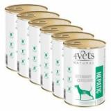4Vets Natural Veterinary Exclusive HEPATIC 6 x 400 g