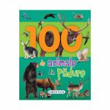 Carte Editura Girasol, 100 de animale din padure