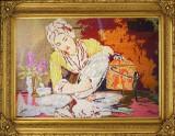 Goblen Original Femeia
