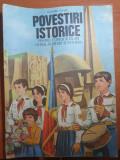 povestiri istorice pentru copii scolari soimi ai patriei si pionieri - anul 1987