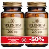 Selenium 200mcg Solgar 50tbl 1+1-50% Cod: 29878