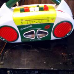 Interesant Radio casetofon Pasarela