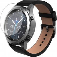 Folie de protectie iUni pentru Smartwatch Samsung Gear S3 Plastic Transparent