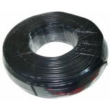 Cablu stereo pentru microfon, 4 mm, 100 m, Negru