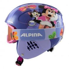 Set casca si ochelari Alpina Carat Disney Minnie Mouse