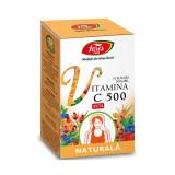 Vitamina C 500 naturala, 10 plicuri, Fares