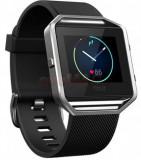 Smartwatch FitBit Blaze Fitness, Marimea S, LCD Capacitive touchscreen, Pedometru (Negru)