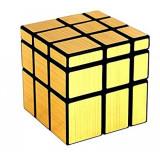 Cumpara ieftin Cub Rubik 3x3x3 QiYi Mirror gold, 129CUB