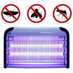 Aparat UV profesional antiinsecte, 2x15W, 80 mp, antitantari, pentru interior, Sanico