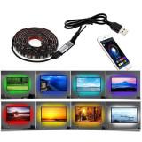 Banda LED RGB, iluminare fundal TV, 2m