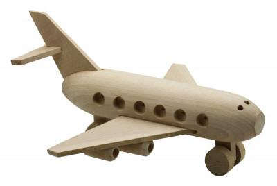 Avion SuperJet lemn foto