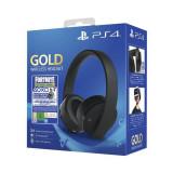 Casti Gaming Wireless Sony Playstation 4 Gold 7.1 Usb 3.5 Mm Negre