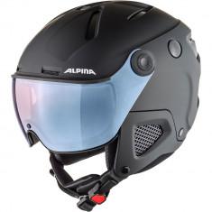 Casca Alpina Attelas Visor QVMM black matt/silver