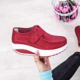 Pantofi dama Piele casual rosii Celasia-rl