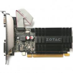 Placa video Zotac nVidia GeForce GT 710 1GB DDR3 64bit low profile HDMI