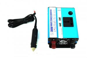 Invertor premium 300W 12V-220V ManiaCars