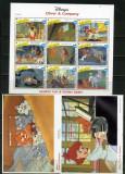 1992 - GRENADINES OF SAINT VINCENT - WALT DISNEY- OLIVER & COMPANY, Animatii, Nestampilat