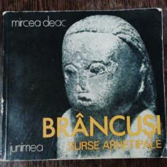 BRANCUSI SURSE ARHETIPALE- MIRCEA DEAC