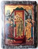 Icoana - Duminica Tomei - Pictura manuala pe lemn stil bizantin Sf.Munte Athos