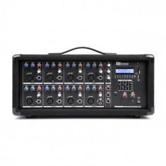 Power Dynamics PDM-C805A, mixer muzical cu 8 canale, 800 W, usb și sd slot