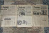 ziarul Scinteia 3 numere din 1972,1973 ziar,ziare comuniste