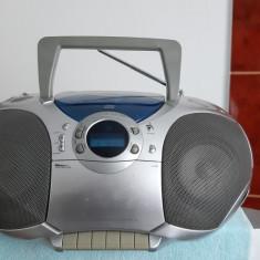 RADIO CASETOFON GRUNDIG RR 770 CD , DEFECT .