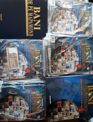 Colecție Bani de pe mapamond - 72 numere echipate complet - 45% din preț foto