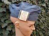 Boneta militara albastra din perioada RSR