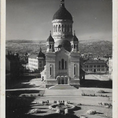 Carte postala Cluj catedrala mitropolitana interbelica