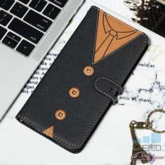 Husa Protectie Flip Cu Stand Samsung Galaxy S10 Plus Neagra