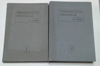 R.PAUN - TERAPEUTICA MEDICALA         Vol.1.2. foto