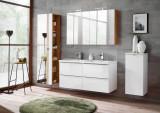 Set Mobilier pentru baie, 7 piese, Capri White XL